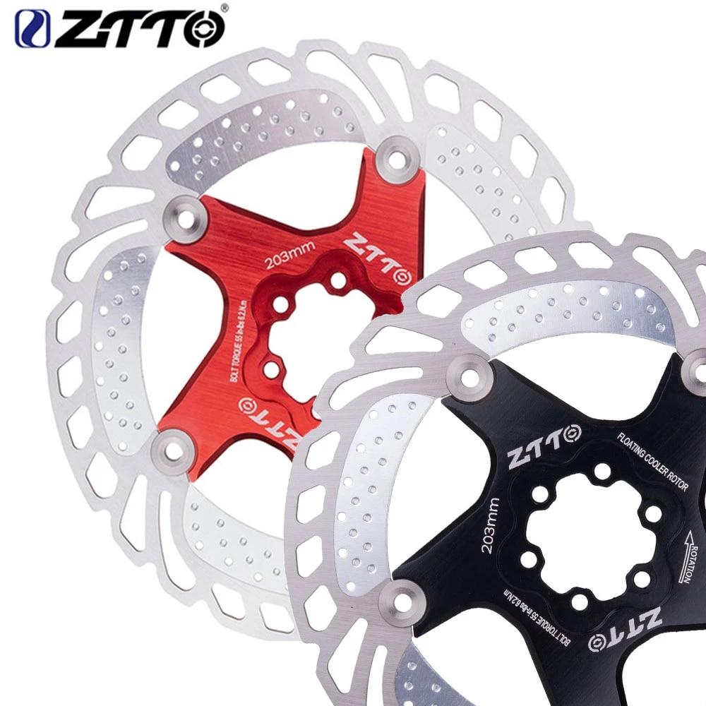ZTTO New Bike Brake Disc Floating Rotor MTB Road Gravel Bike 140//160//180//203mm