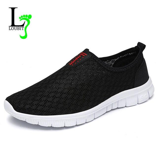 fb0601dfc7c3 Men Shoes 2017 Summer Men Casual Shoes Best Quality Fashion Mesh Men  Loafers Breathable Slip on Footwear