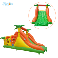 Inflatable Biggors Combo Sports Games Inflatable Playground For Rental