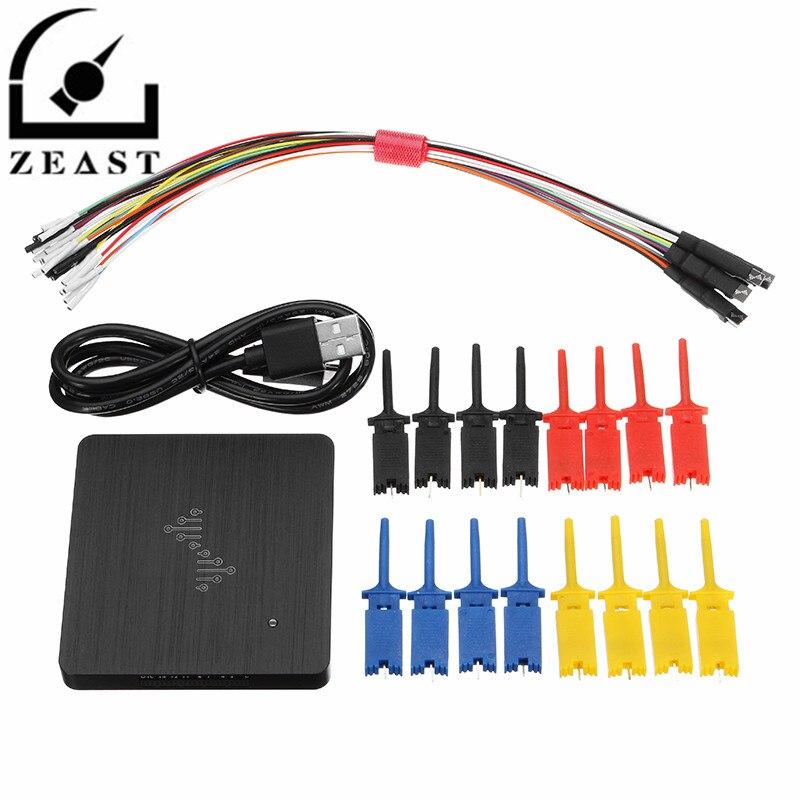 DSLogic 16 Canais Analisador Lógico 400 m Amostragem de Depuração USB-baseado Logic Analyzer
