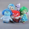 20 cm-38 cm En El Interior Fuera de la Felpa Juguete Pixar Película Alegría Tristeza Ira asco Y Miedo Muñeco de Peluche Niño Regalos de Las Muchachas de Peluche juguetes