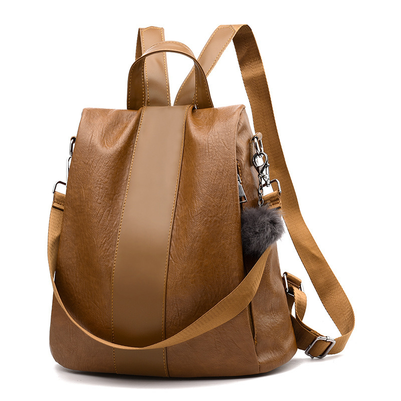 Fashion Women Backpack High Quality Youth Leather Backpacks for Teenage Girls Female School Shoulder Bag Bagpack mochila new style school bags for boys