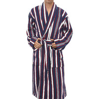XMS Brand Robes Male 100 Cotton Terry Bathrobes Toweled Pajamas Kimono Men S Bathrobe Mens Sleepwear