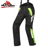 Free shipping 1pcs Winter Mens Warm Waterproof Motorcycle Trouser Motorbike Textile Trouser Pants Armoured Motorcycle Pants