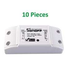 ITEAD Sonoff 4CH – 4 Gang Din Rail Mounting Wireless Control WIFI Smart Switch Home Light Alexa Remote Snoff 10A/2200W