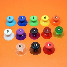 2pcs 14 color Colorful 3D Analog Thumb Sticks for XBOX One Controller Analogue Thumbsticks Caps Mushroom