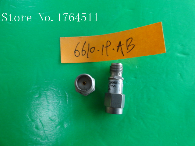 [BELLA] H+S 6610.19.AB DC-12.4GHz 10dB 2W SMA Coaxial Fixed Attenuator  --5PCS/LOT