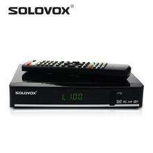 Factory Outlet 1 unids SOLOVOX F7S tarjeta que comparte el Receptor de Satélite Apoyo WEB 2USB TV USB Wifi 3G Biss Clave Youporn Cccam