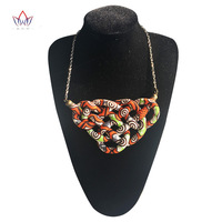 2019 African Handmade fine Necklace for Women Boho Style Necklaces & Pendants Rope Chain for Best Friends Gift none WYA066