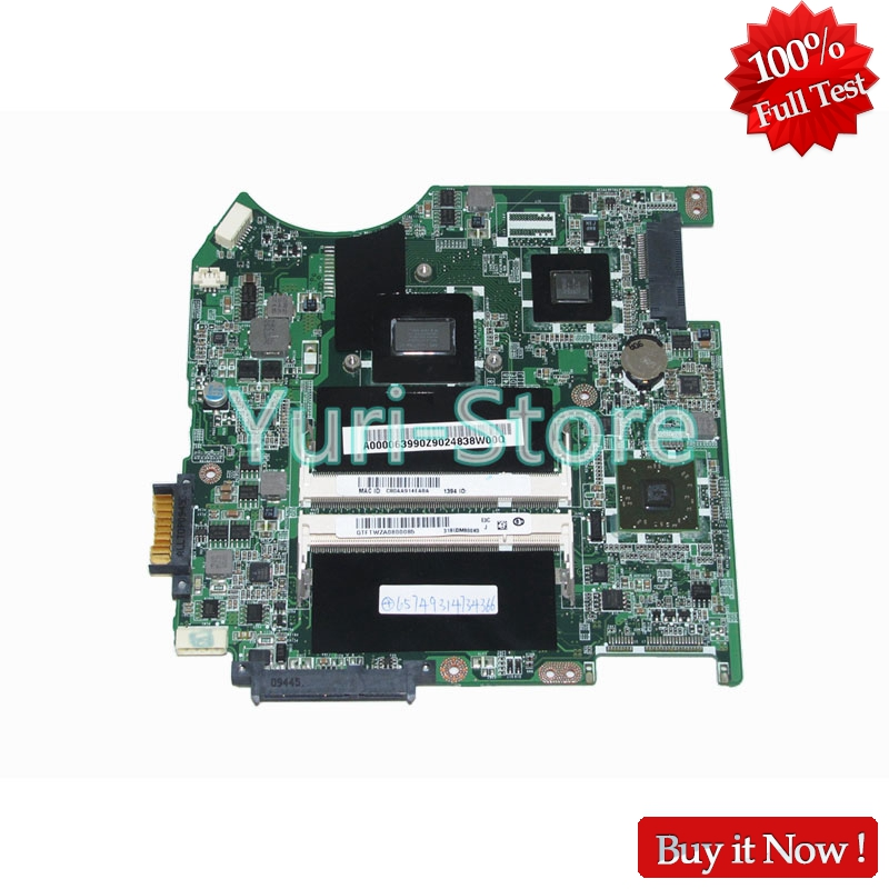 NOKOTION A000063990 Laptop Motherboard for Toshiba Satellite T135D DABU3AMB8E0 Series REV E Mainboard full tested