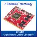 Original Genuine 512 MB placa de vídeo monitores HD5470 placa gráfica para DELL AMD GPU substituição testado trabalho
