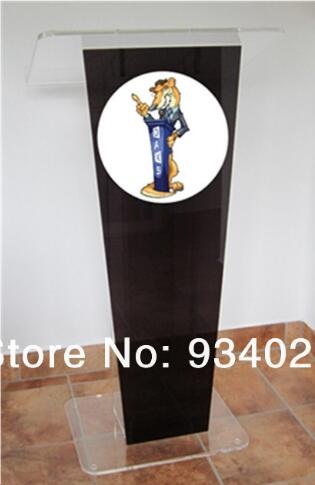 Custom Wholesale Free Shipping Beautiful Easy Cheap Acrylic Podium Pulpit Lectern Acrylic Pulpit