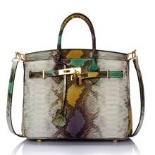 FUCHSSCHWANZ & LILIE Top-griff taschen serpentin korn Platin Tasche Aus Echtem Leder Handtasche Vintage Frauen handtaschen Schulter weiblich Taschen