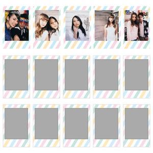 Image 5 - Fujifilm Instax Mini Film Mini 9 фотобумага 10/20/30 листов черная Конфета поп блестящая Звезда спелая для мгновенной Мини камеры 7s 8 9 11