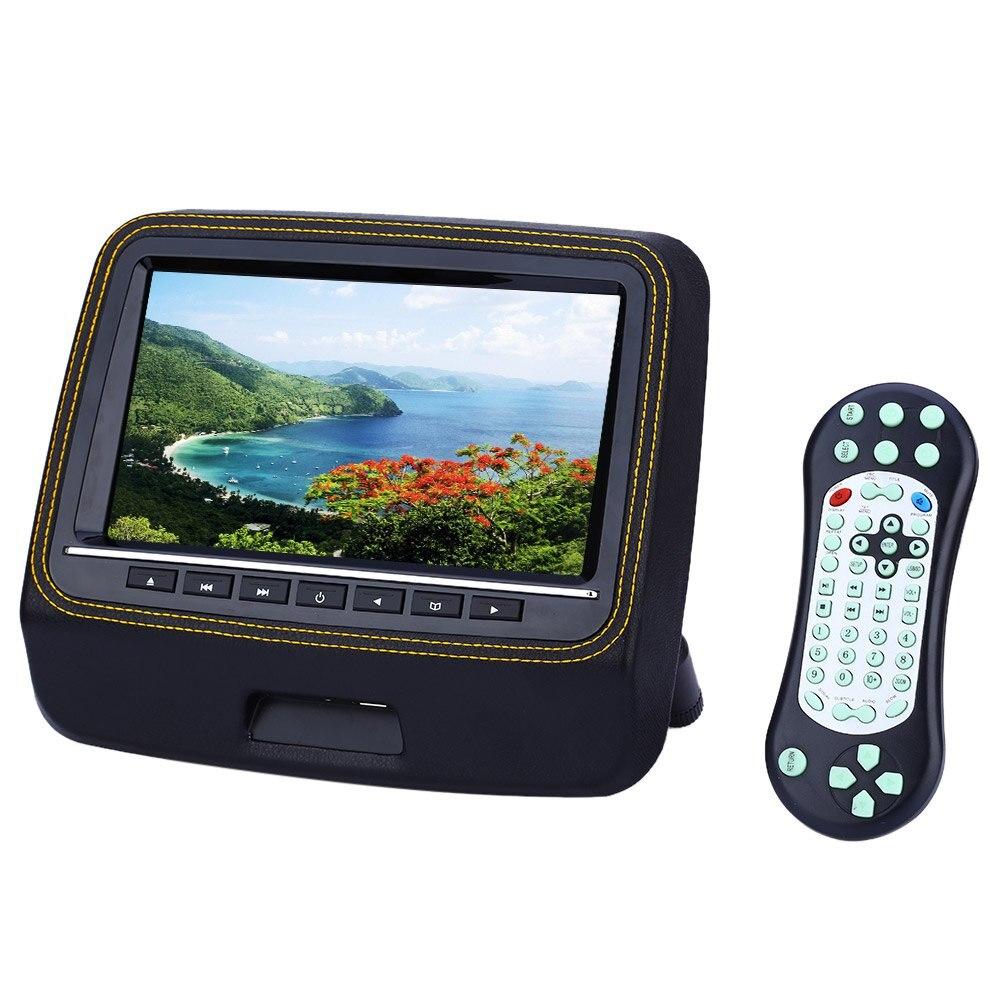 Car Headrest Video Player Backseat Monitor 9 Inch Bracket