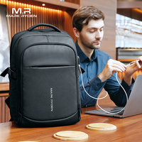 Mark Ryden New Man Multifunctional Waterproof Backpack 15.6 inch Laptop Multi Layer Pockets Bag Man USB Charge School Backpack