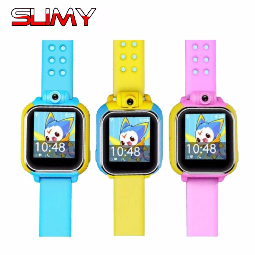 Slimy Best Child Smart Watch for Kids Smartwatch Wristwatch Baby Son Anti Lost Wristband Clock with GPS Wifi 3G Android OS Stock smart baby watch q60s