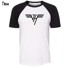 6d34937ca Unisex Summer Men's T-shirt Short Sleeve Tshirt Van Halen Band Print  Graphic Boy's Gray
