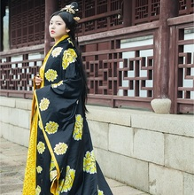 Empress Princess Tang Dynasty Performing Long Dress Suzhou embroidery Women Ancient Clothing Studio Photographic Theme Costume han dynasty empress wu zetian cosplay hair empress hair tang empress hair chinese ancient hair for women