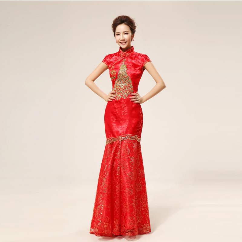 Online get cheap traditional chinese bride for Discount wedding dresses phoenix