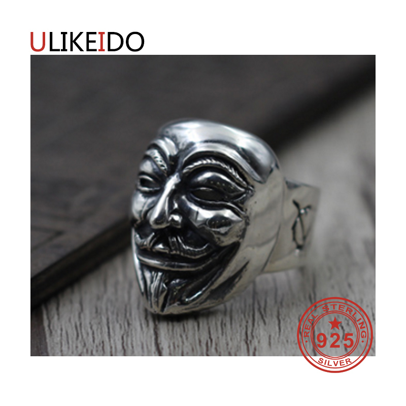 100% Pure 925 Sterling Silver Jewelry Rings Adjust Vintage Mens Signet Ring For Women Special Christmas Gift 945100% Pure 925 Sterling Silver Jewelry Rings Adjust Vintage Mens Signet Ring For Women Special Christmas Gift 945