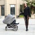 Bebé Cubierta de Asiento de Coche Canopy Cubierta Multi-Uso Elástico Infinito Bufanda de la Lactancia Materna Enfermería Compras Cubierta Cubierta de La Silla Alta
