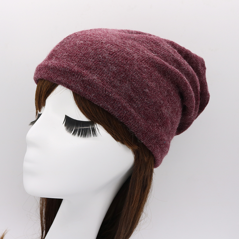 Autumn Winter Unisex Knitted Hats Warm Skullies & Beanies Hip-hop Snap Slouch Bonnet Hat Gorro Men Women multifunctional beanies [jamont] love skullies women bandanas hip hop slouch beanie hats soft stretch beanies q3353