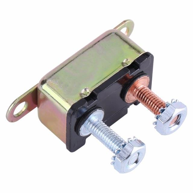 40a auto automatic reset stud type circuit breaker for car truck rv rh aliexpress com