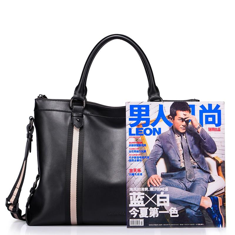 SAMMONS men genuine leather briefcase 190209-01_06