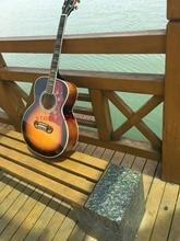2019 Новая фабрика + высокое качество OEM 39 дюймов G200 Акустическая гитара, Массив ели Топ, бесплатная доставка