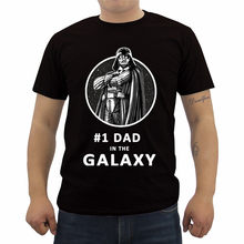 e8ac5c28 Summer Funny Fashion Printed Men's T Shirt Star Wars Father's Day Darth  Vader Best Dad Graphic