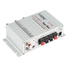 Mini HiFi Amplificateur Fièvre Niveau HQ HiFi Amplificateur Audio Stéréo Basse haut-parleur pour Auto Auto Moto Accueil PC Bateau MP3 MP4 Radio