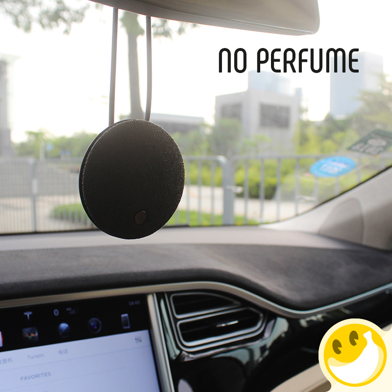 Car Perfume Outlet Perfume Clip Car Air Cleaner Perfume clip Air conditioning outlet Car air refreshing agent Car pendant car outlet perfume air freshener with thermometer white black
