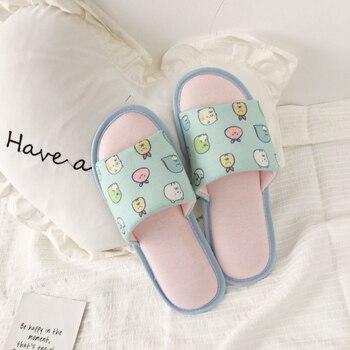 bc45b0e3f8c8a Millffy/милые женские тапочки; вязаные тканевые тапочки с открытым носком;  сезон весна-
