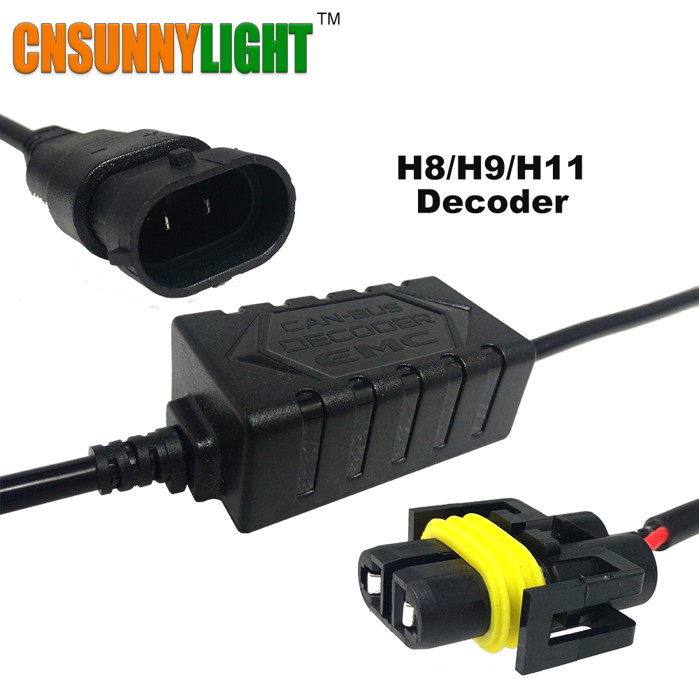 CNSUNNYLIGHT Fehlerlose LED Kabelbaum Adapter Anti Flimmern Decoder ...
