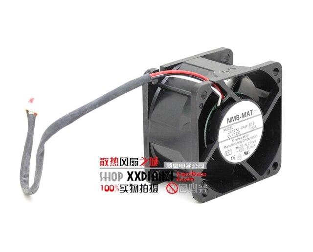 Pacote Original 12 V 1.50A 6 CM 2415KL-04W-B79 velocidade do vento do ventilador de refrigeração de três fios
