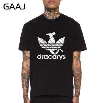 Camiseta exclusiva Dracarys para hombre, camisetas 100 de algodón, ropa de calle, camiseta para gimnasio, regalos del Día del Padre, camiseta Dracarys no Today