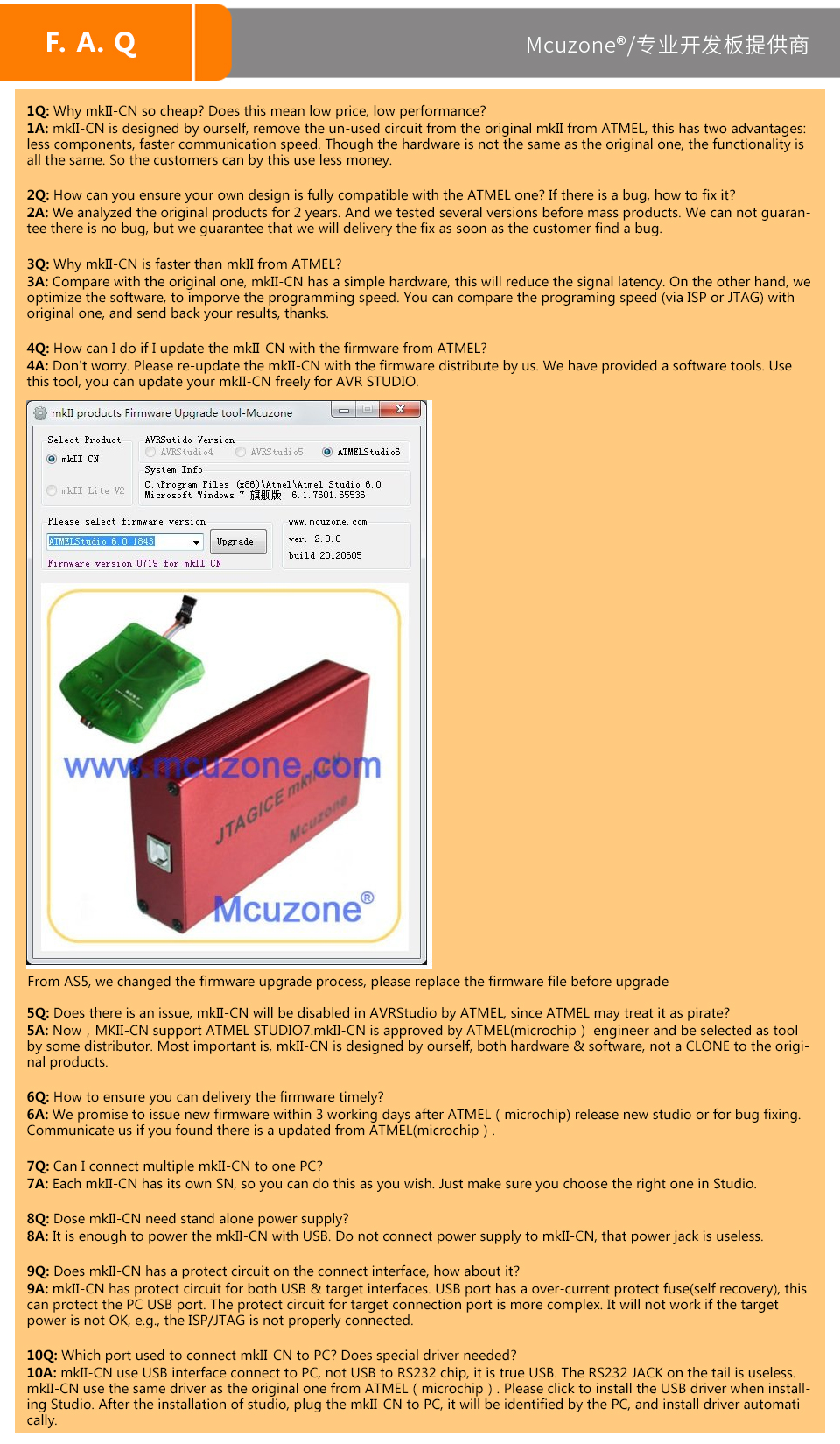 FLASH SALE] AVR/AVR32/ATxmega JTAG ICE mkII Emulator free