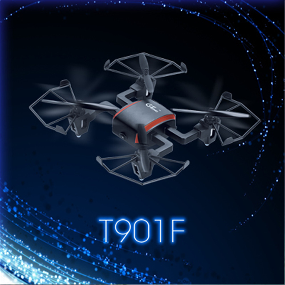 Gteng toysdron t901f rc helicóptero mini drone cámara con control remoto quadcop