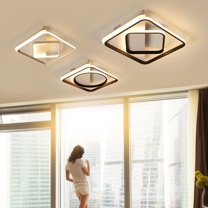 купить Modern LED Ceiling Light Lighting Fixture Lamp Surface Mount Living Room Bedroom Bathroom Remote Control Home Decoration Kitchen недорого