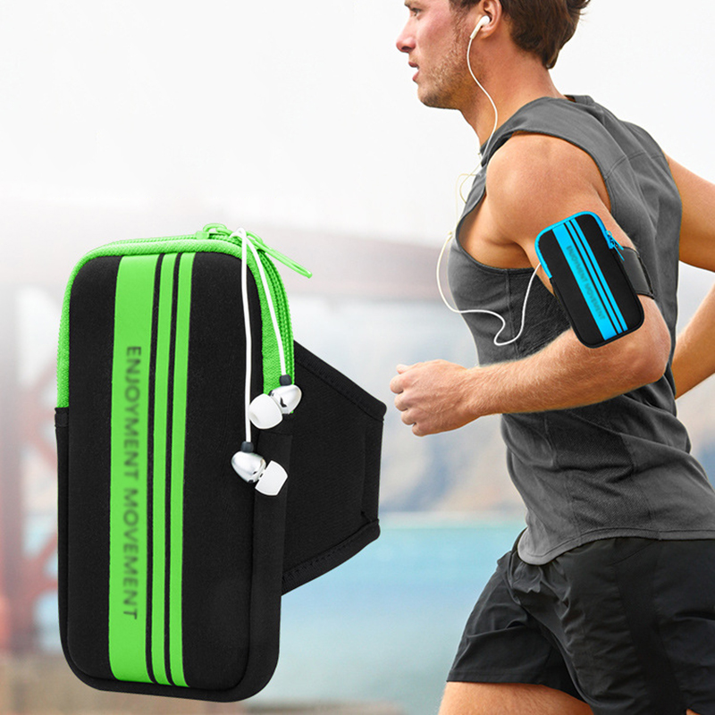 Sport Running Armband Mobile <font><b>Phone</b></font> Pouch <font><b>Case</b></font> <font><b>Holder</b></font> On Hand For iPhone X 8 7 Plus 6 6s Xiaomi redmi note 4 oneplus 5 <font><b>Samsung</b></font> <font><b>S9</b></font> image