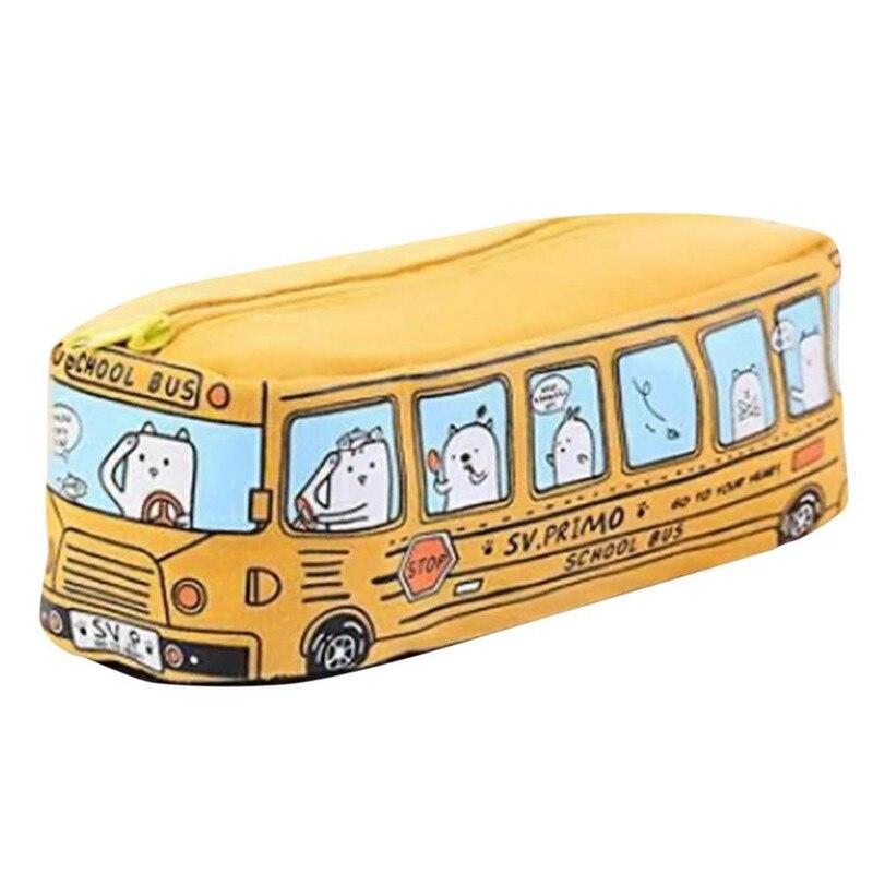 Bag Stationary-Bags Makeup-Accessory Pencil-Case Bus-Design Student Coach Pouch School-Pens