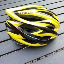 цены Thikuo Bicycle Helmets  Men Women Bike Helmet Back Light Mountain Road Bike Integrally Molded Cycling Helmets