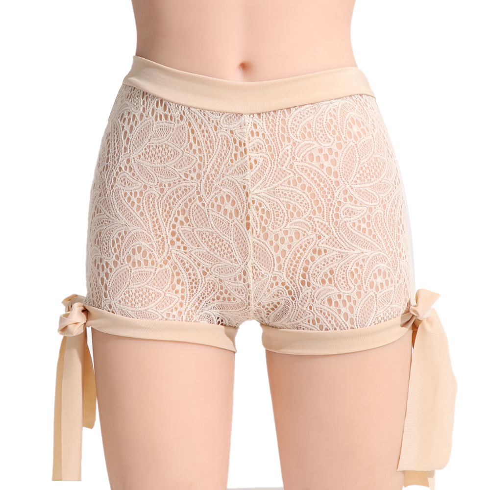 1PC Hot New Fashion Casual Summer Women's Hollow Out Straps   Shorts   Sexy Lace Sheer Hollow Out   Shorts