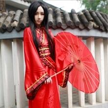 Female cosplay dress kimono new design fashion performance show costume Cosplay Hanfu classical dance