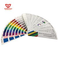 Japan original JPMA Standard Paint Colors Card For Industrial Paint Color