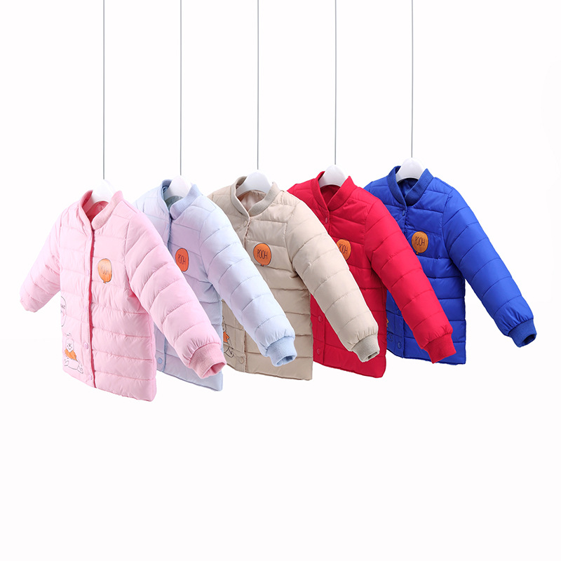 ФОТО Children's Clothing Baby Down Coat Jacket Parka Winter Warm Jacket Baby Boys Girls Cotton Liner Child Down Snow Outerwear Coat