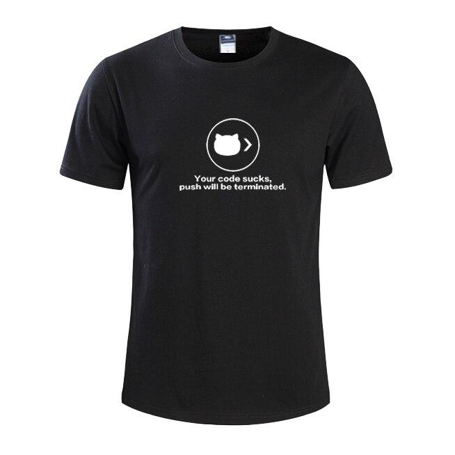 2018 летние модные мужские футболки мастер NERD freak хакер pc gamer программиста систем топы для мальчиков футболки Мужчины ваш код сосет одежда