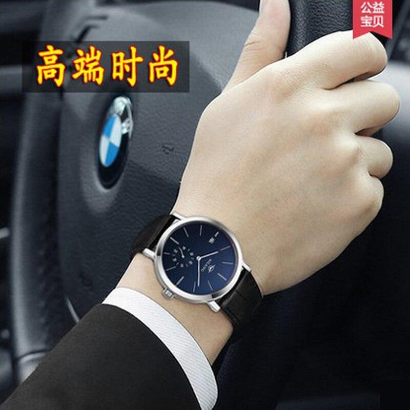 AILANG แบรนด์ผู้ชายธุรกิจ Deluxe Yingang mechanical 5 จุดขนาดเล็กวันที่ผู้ชายแฟชั่น casual นาฬิกา-ใน นาฬิกาข้อมือกลไก จาก นาฬิกาข้อมือ บน   3