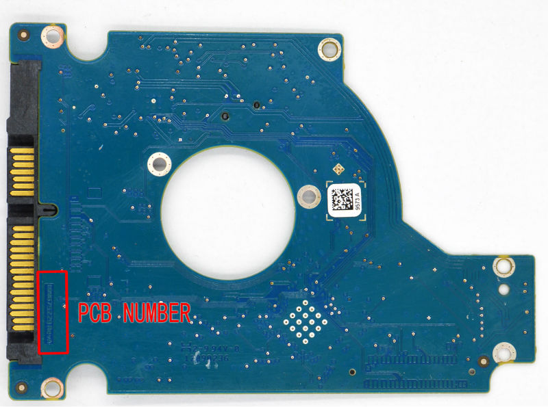 HDD PCB for Seagate/Logic Board/Board Number:100675229 REV A